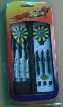 Nickel Silver Plated Darts
