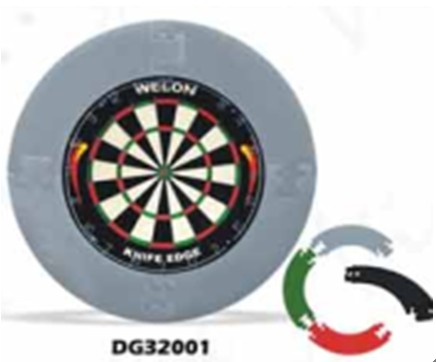 Knock Down Round Dartboard Surround