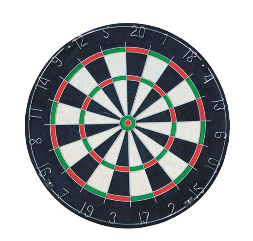 18*1/4 Bristle Dartboard